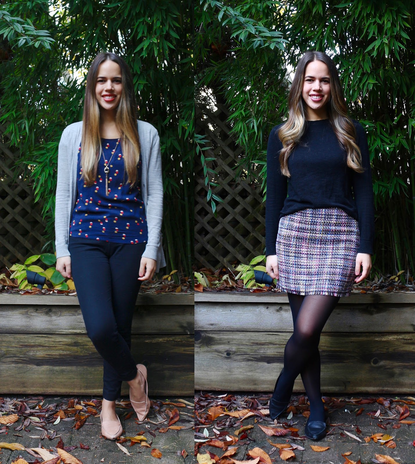 Jules in Flats - November Outfits (Business Casual Fall Workwear on a Budget)