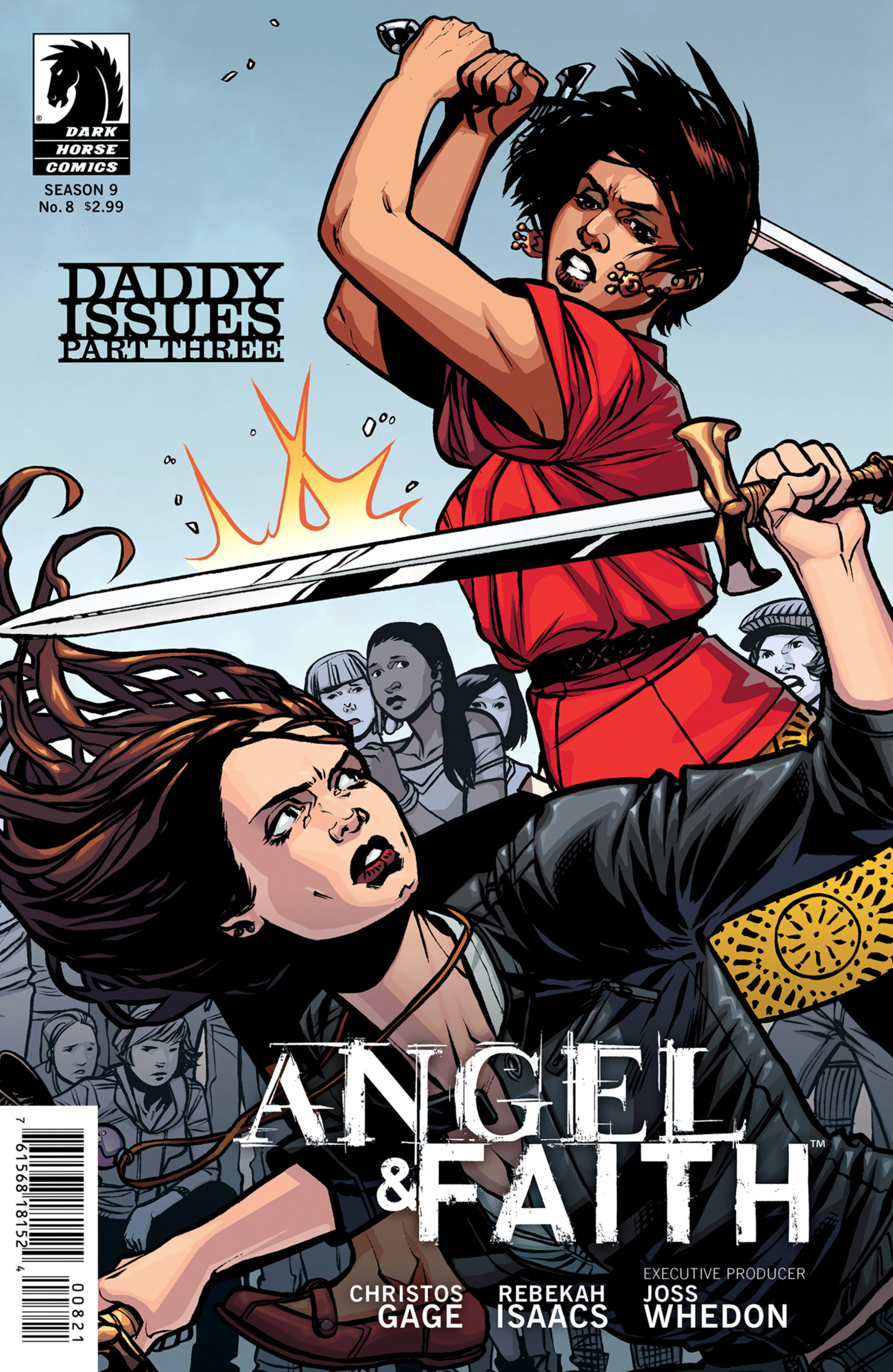 Read online Angel and Faith comic -  Issue #8 - 2