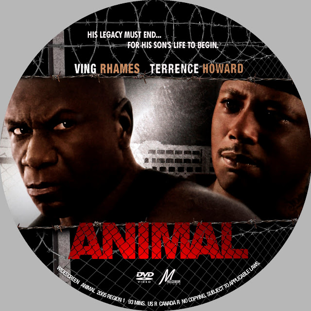 Animal (2005) DVD Label