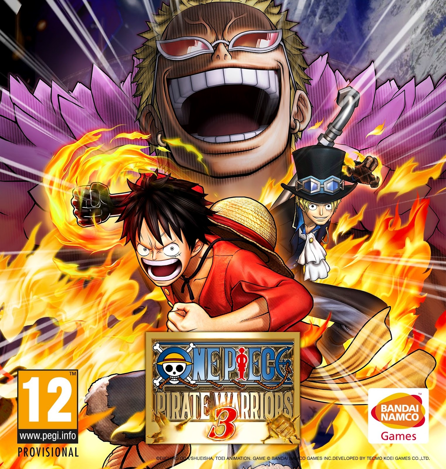 One Piece Pirate Warriors 3 ESPAÑOL PC Full Cover Caratula