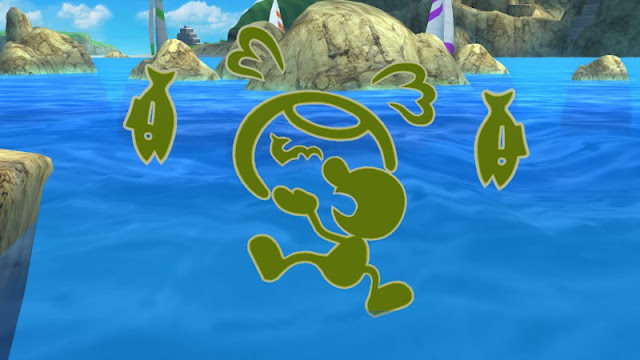 Mr. Game & Watch neutral air fish fishbowl rotten Super Smash Bros. For Wii U Rio de Janeiro