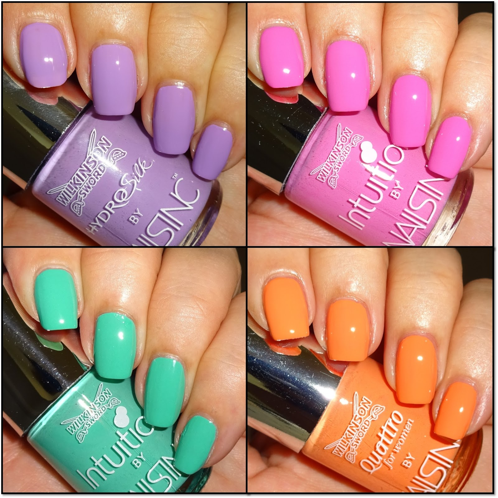 Wendy\'s Delights: Free Nails Inc with Wilkinson Sword for Women