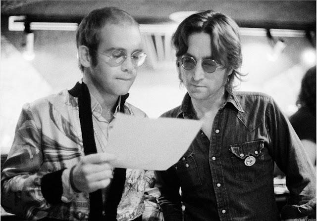 Elton John y John Lennon