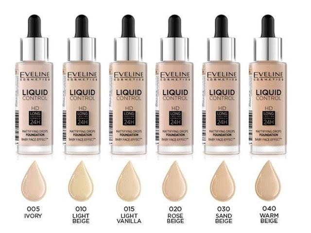 Eveline cosmetics liquid control hd podkład do twarzy