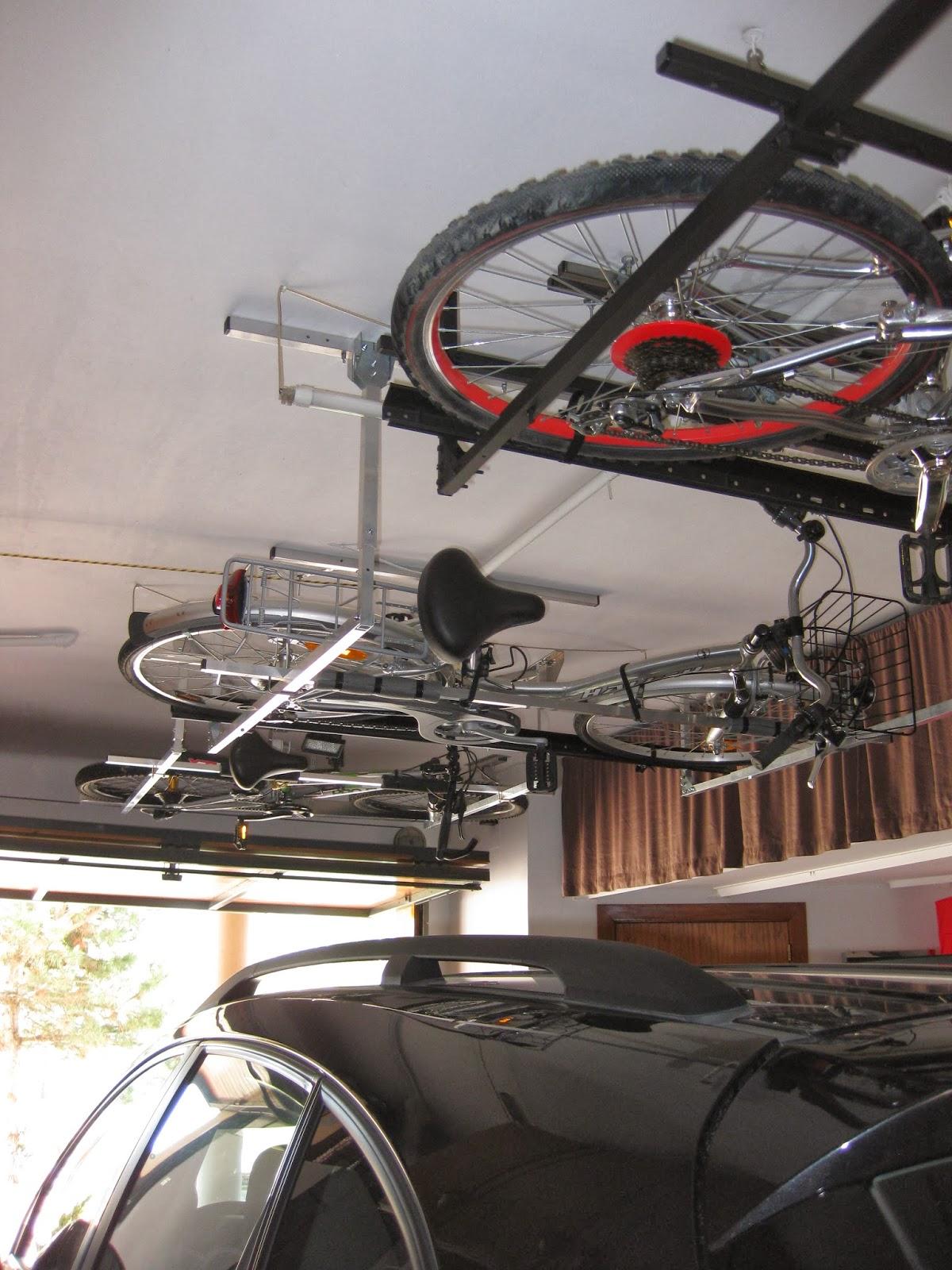 Macsis un nuevo sistema para guardar nuestra bicicleta for Como guardar bicis en un piso