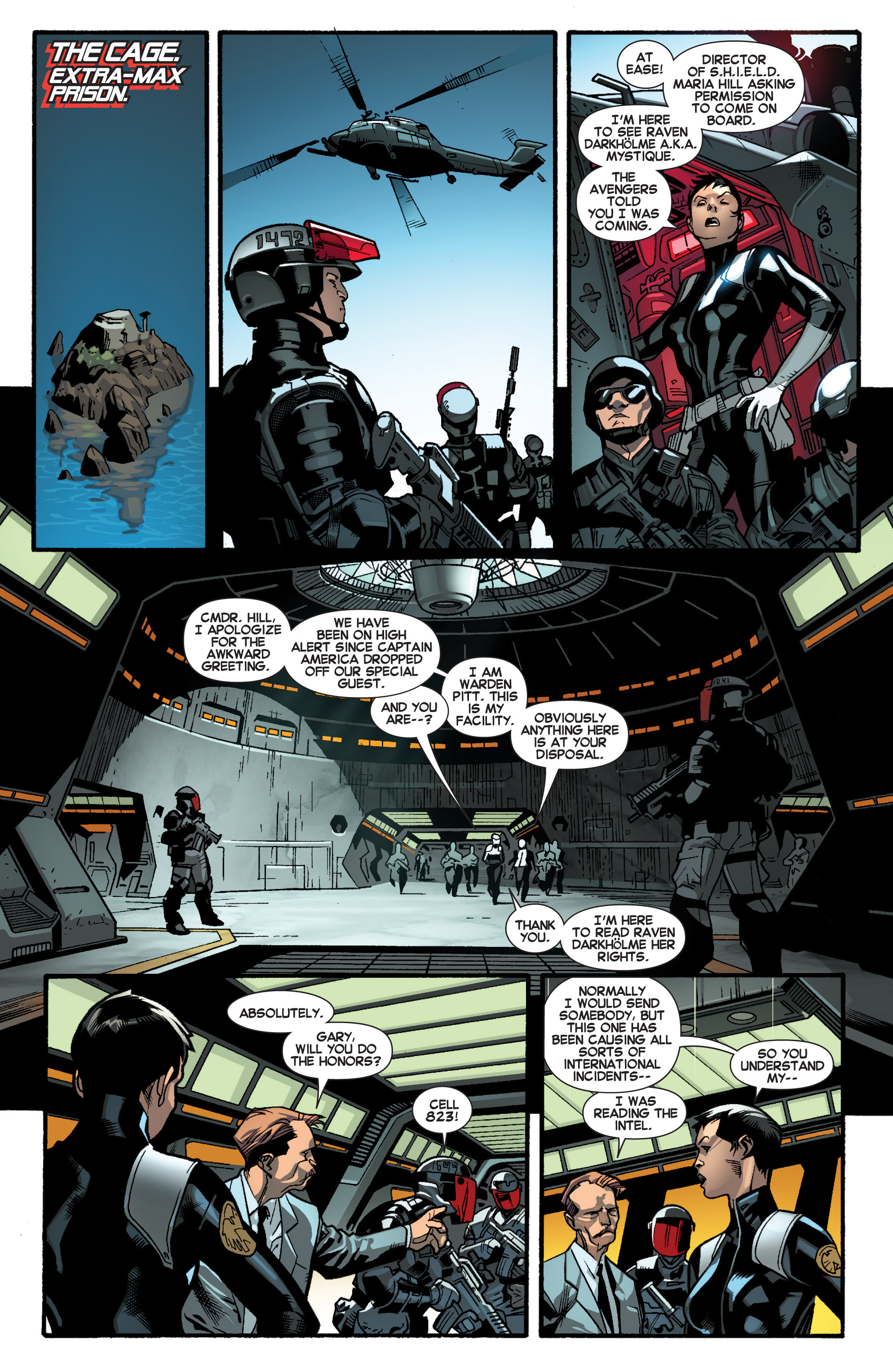 Read online All-New X-Men (2013) comic -  Issue # _Special - Out Of Their Depth - 85