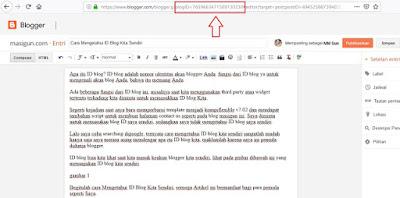 berapa id blogger