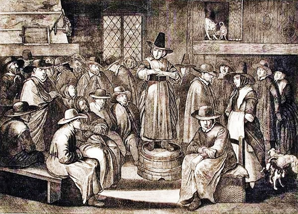puritan life and dissent in colonial new england