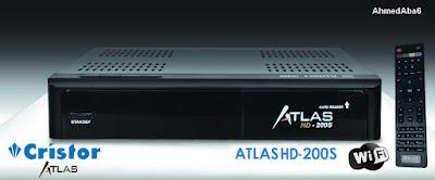 F201  اصدار جديد للكريستور Atlas HD-200s