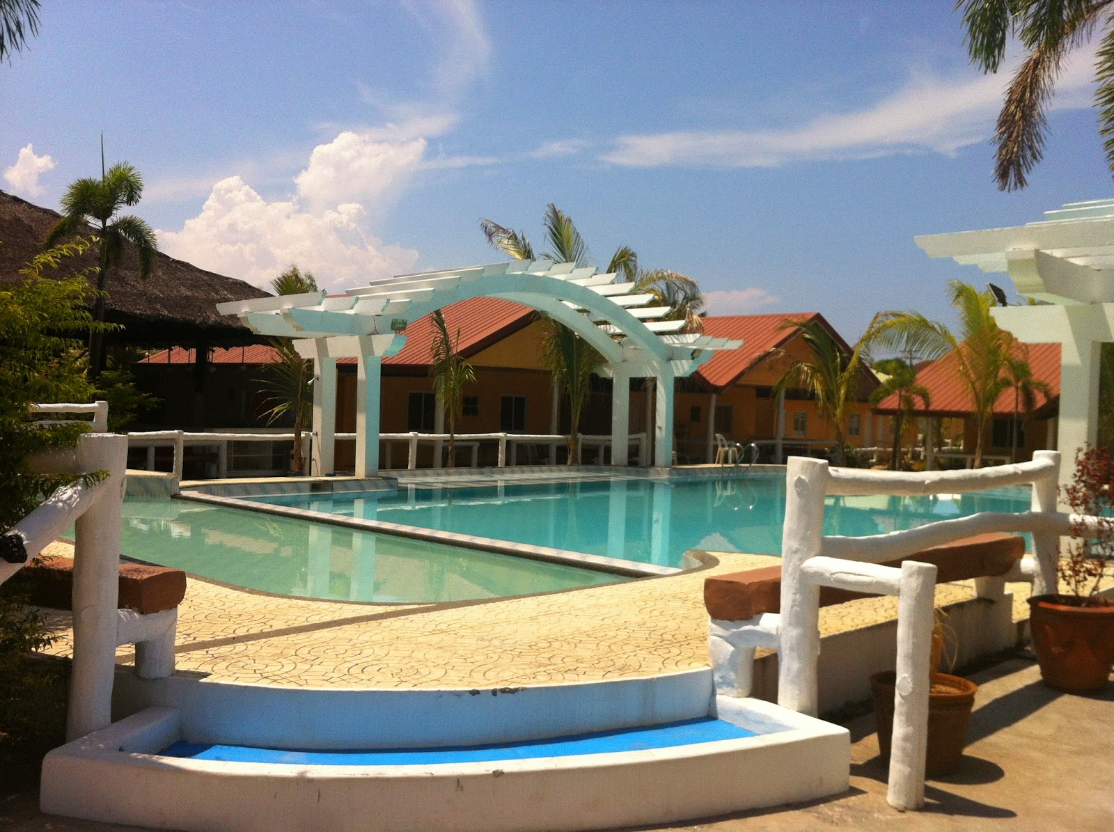 The Pool Area At Non Beach Front Of Phi Resort