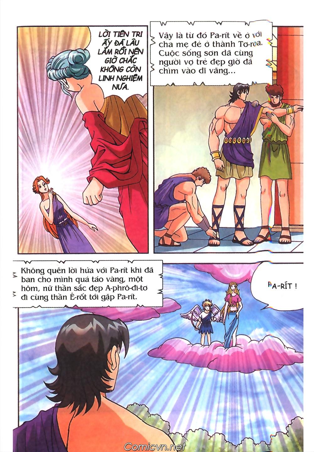 Thần Thoại Hy Lạp Màu - Chapter 50: Hoàng tử Pa rít - Pic 31