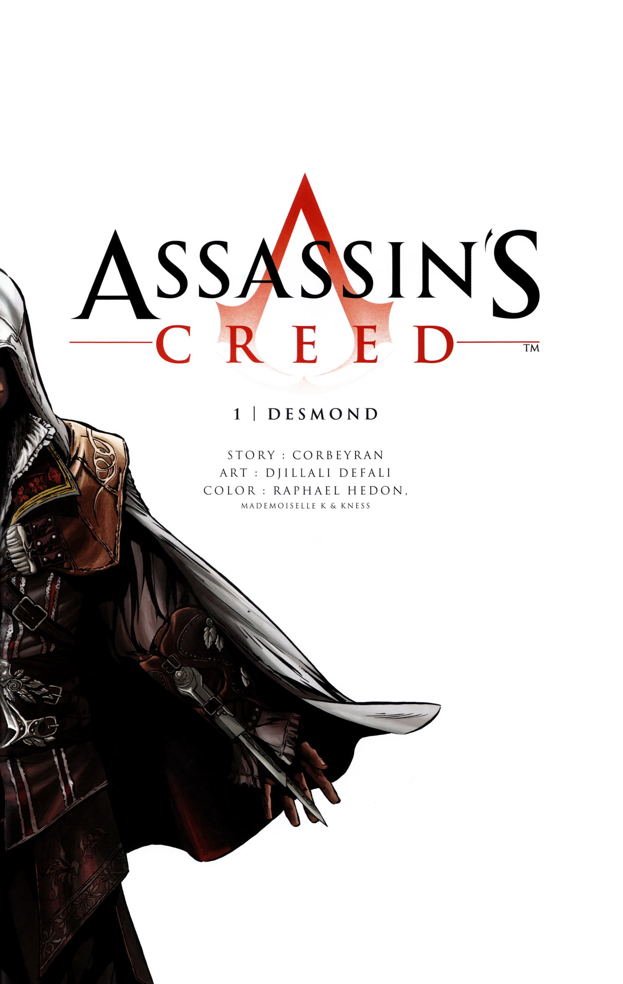 Read online Assassin's Creed (2012) comic -  Issue #1 - 5