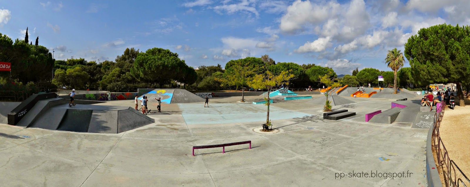 Skatepark Hyères street