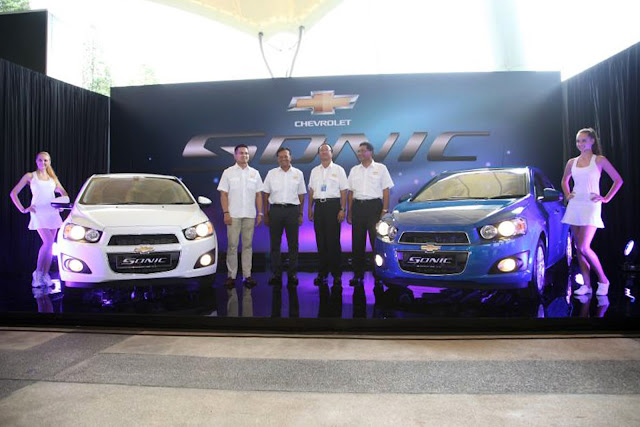 Chevy Sonic Launched In Malaysia