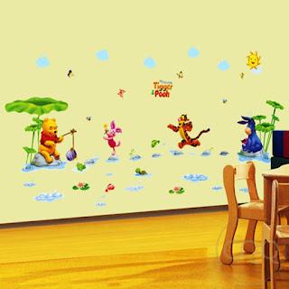 Gambar Wallpaper Dinding Winnie the Pooh Terbaru dan Lucu 200162