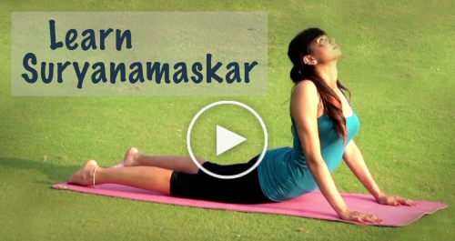 How To Do Surya Namaskar