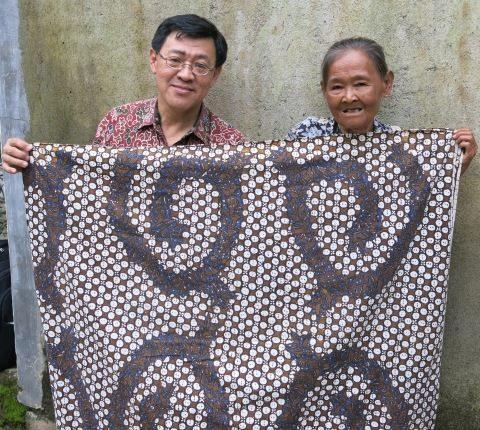 Kwan Hwie Lion : Batik Klasik Sogan Batangan