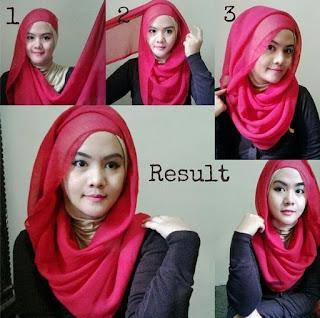 Cara Hijab Modern Untuk Wajah Bulat