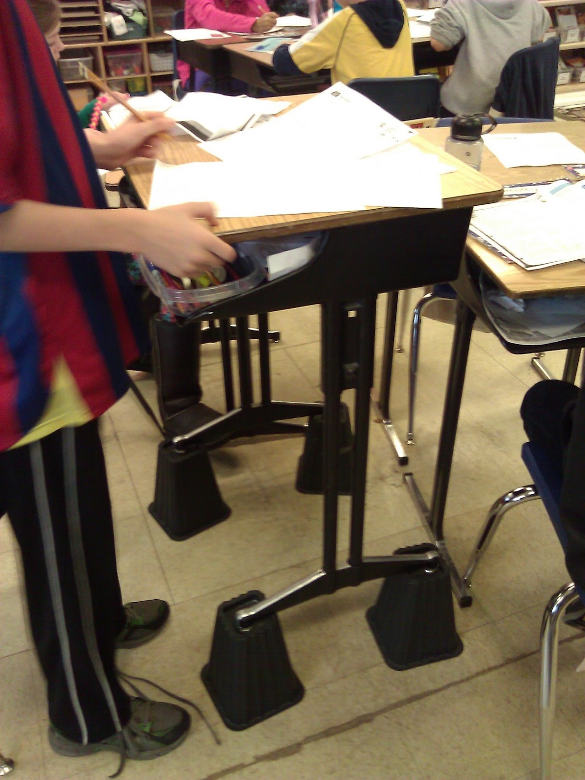 Organizing Chaos in the Classroom: Alternative Seating