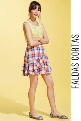 Faldas cortas para niñas