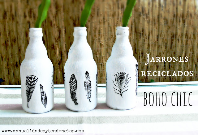 Como Transformar Botellas En Jarrones Decorativos