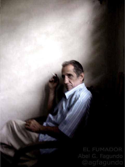 El Fumador. Autor: Abel G. Fagundo