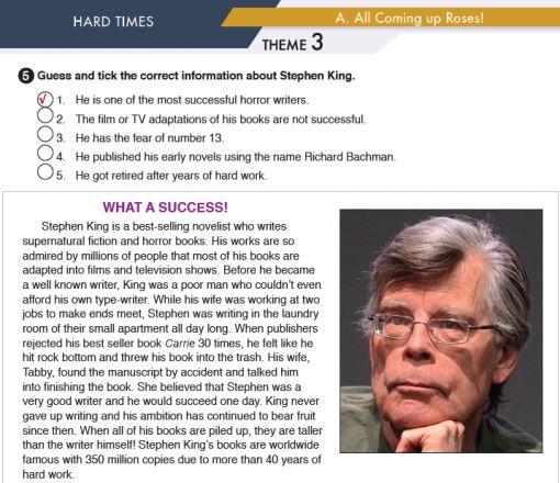11. Sınıf MEB Yayınları İngilizce Çalışma Kitabı Silver Lining 24. Sayfa Cevapları Hard Times