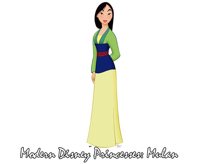 Modern Disney Princesses Series 2 Mulan Vvnightingale