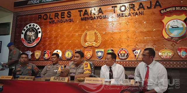 Tahun 2018, Polres Tana Toraja Tangani 215 Kasus Judi Sabung Ayam, Kapolres: Hindari yang Berbau Judi