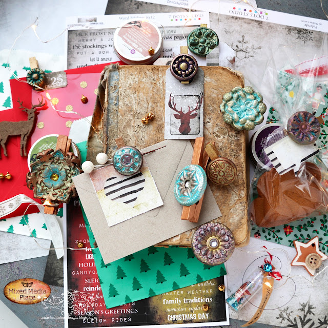 @nastyalena #scrapbooking  #mixedmedia #decor