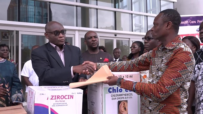 Tobinco Group donates $58,000 worth of drugs to Sierra Leone