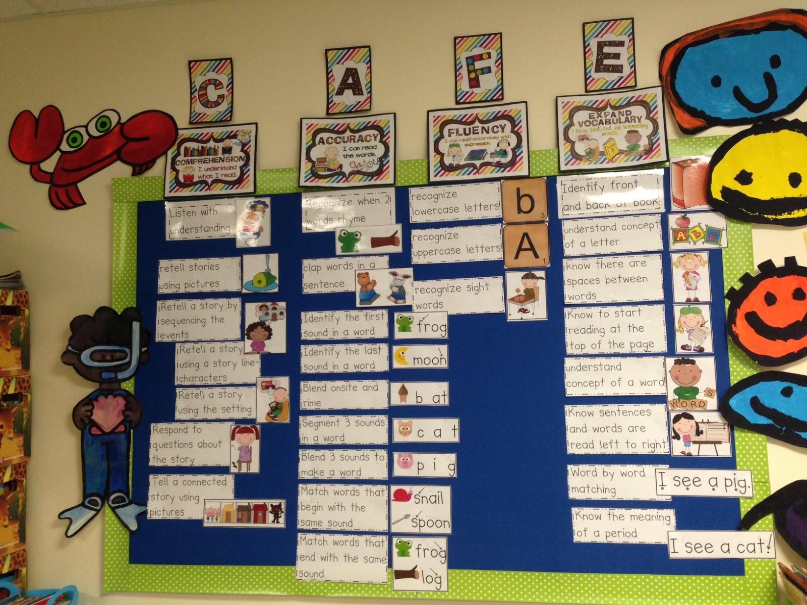Chalk Talk A Kindergarten Blog Cafe Menu For Emergent Readers