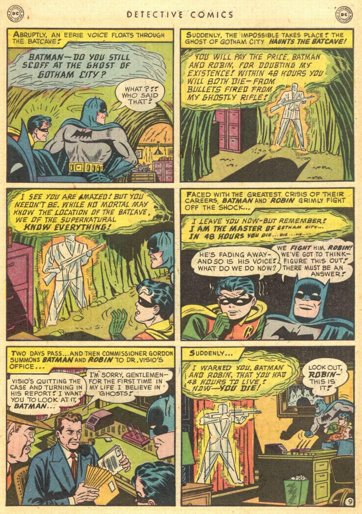 Read online Detective Comics (1937) comic -  Issue #150 - 10