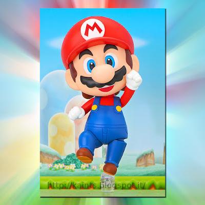 Mario versione Nendoroid della Good Smile Company