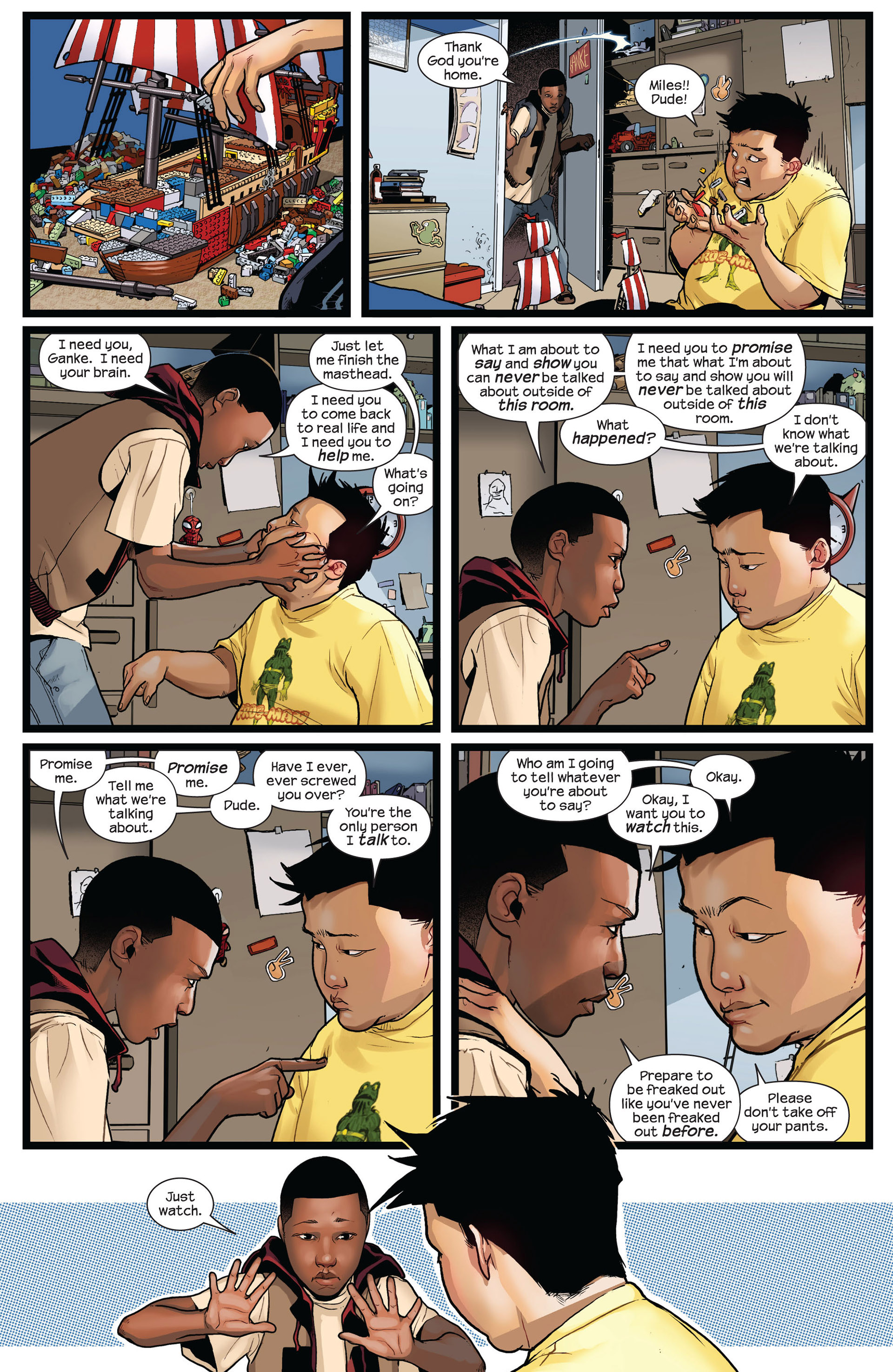 Read online Ultimate Comics Spider-Man (2011) comic -  Issue #2 - 7