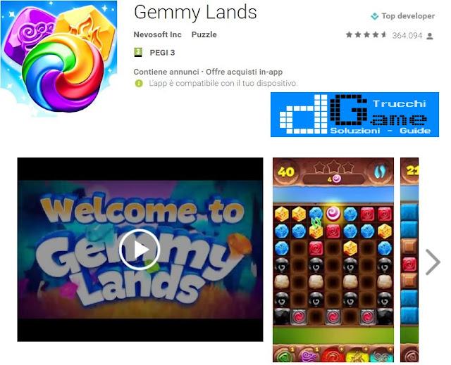 Trucchi Gemmy Lands Mod Apk Android v6.7