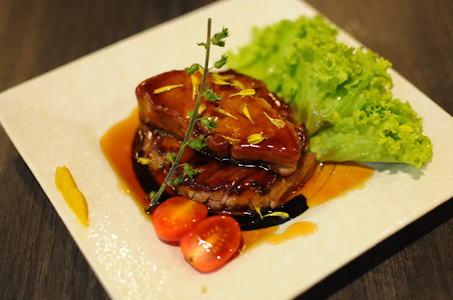 Barashi Tei Food Review Sirloin Steak Foie Gras Lunarrive Singapore Lifestyle Blog