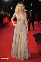Jennifer Lawrence in a golde glittering gown at Red Sparrow Premiere in London ~  Exclusive Galleries 011.jpg