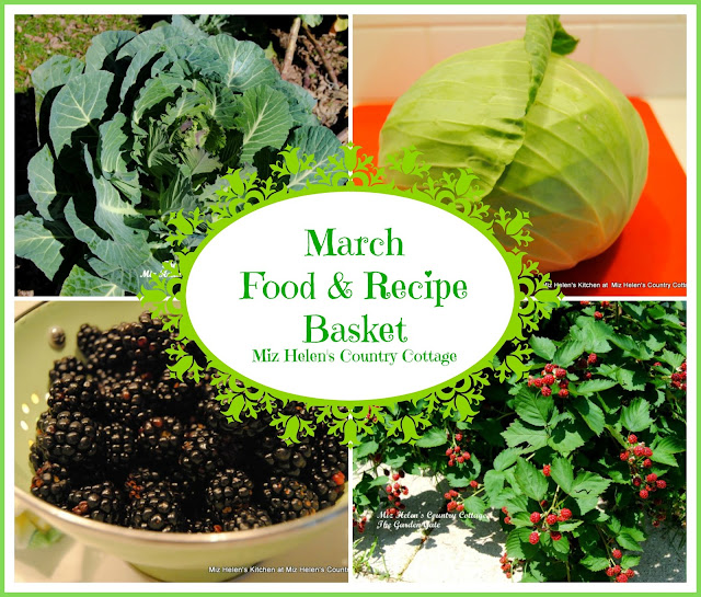 March Food and Recipe Basket at Miz Helen's Country Cottage
