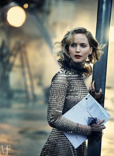 Jennifer Lawrence sexy model photoshoot Vanity Fair Magazine
