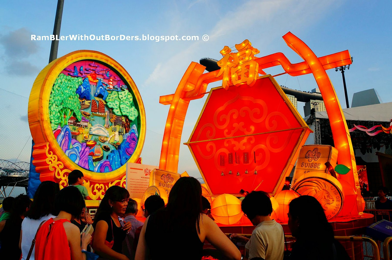 Wishing Well Lantern, River Hongbao 2015, Singapore