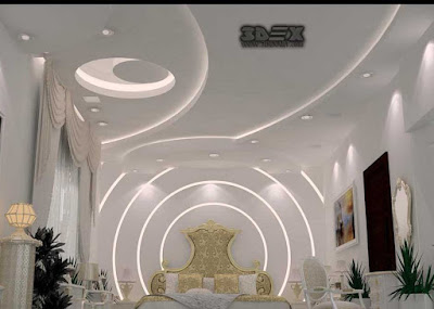 POP ceiling designs false ceiling Plaster of Paris design for bedroom 2019