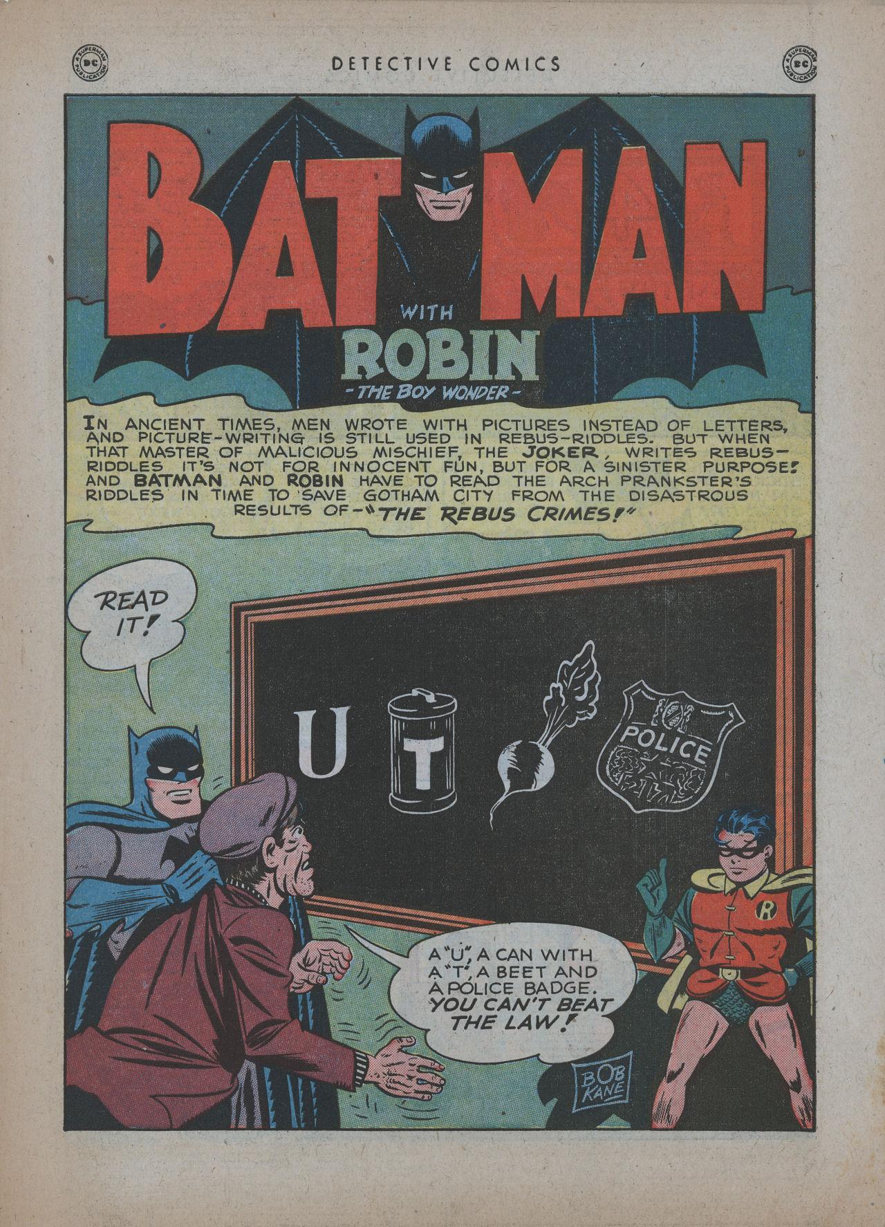 Read online Detective Comics (1937) comic -  Issue #137 - 3