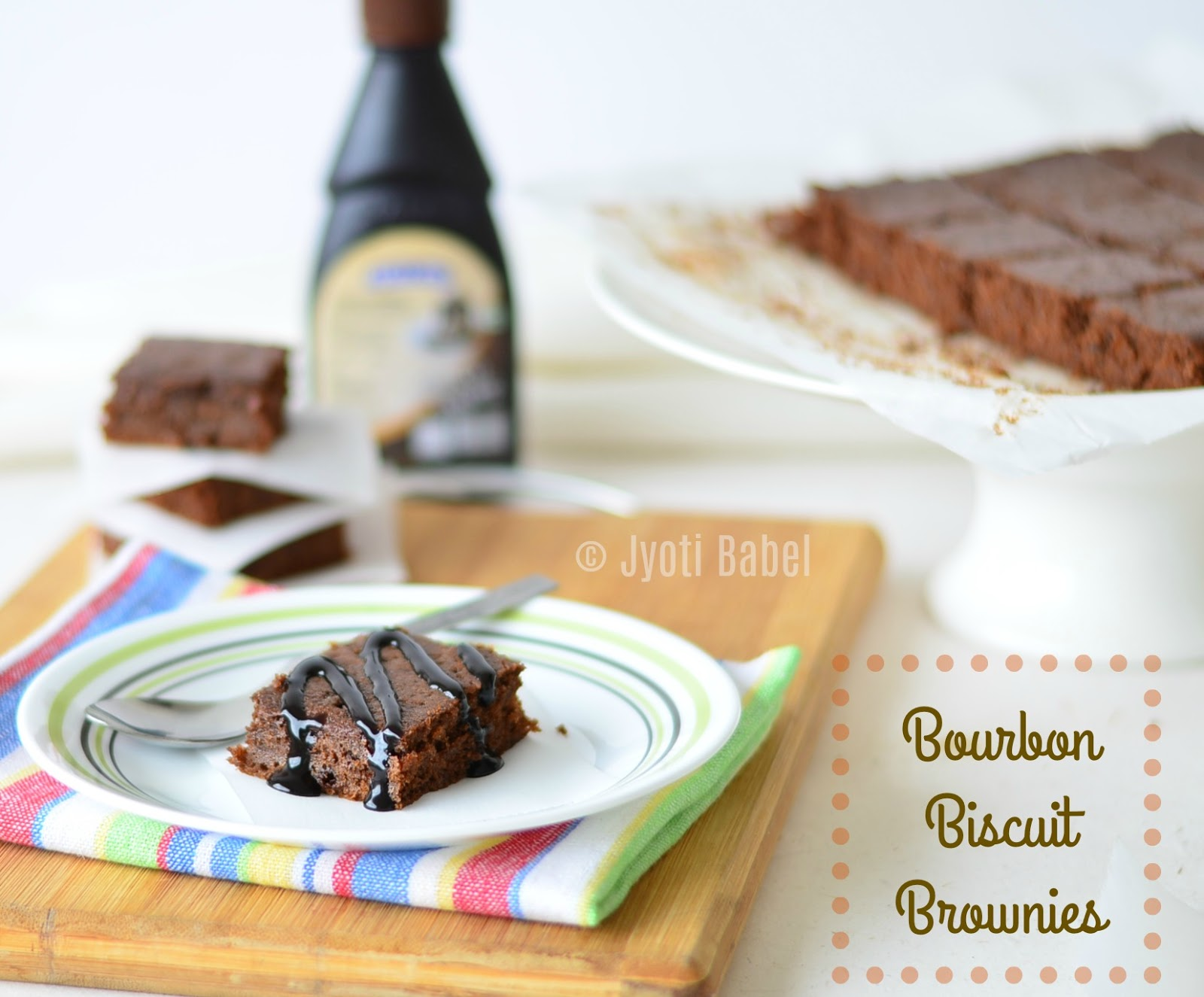 Jyoti S Pages Bourbon Biscuit Brownies Easy Bourbon Biscuit Brownie Recipe