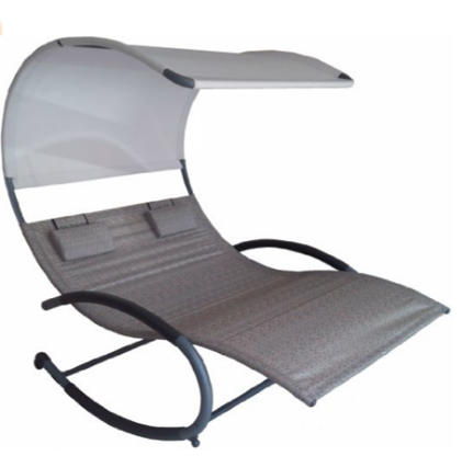 Vivere Double Chaise Rocker