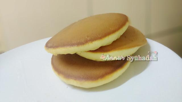 resepi pancake mudah sedap