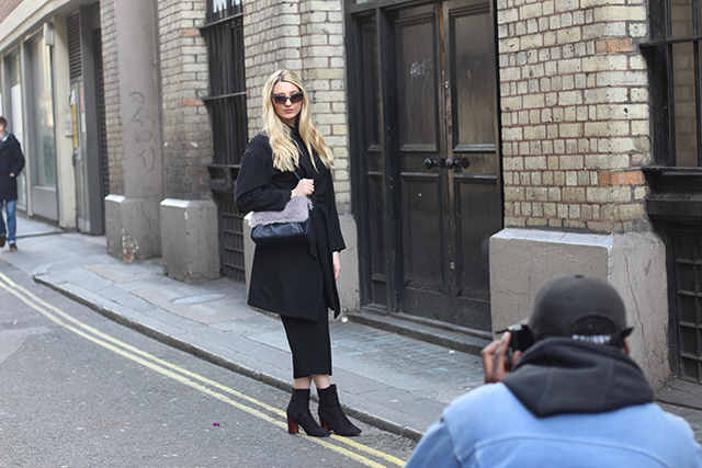london fashion week blogger outfit