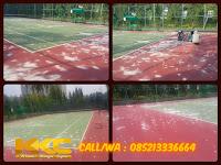 Pengecatan Lapangan Tenis Di Apartemen Puri Cassablanca