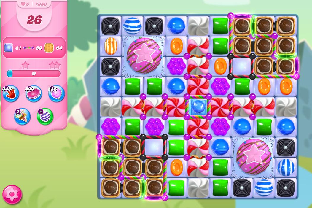 Candy Crush Saga level 7856