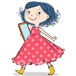 chubby character Dot cartoon